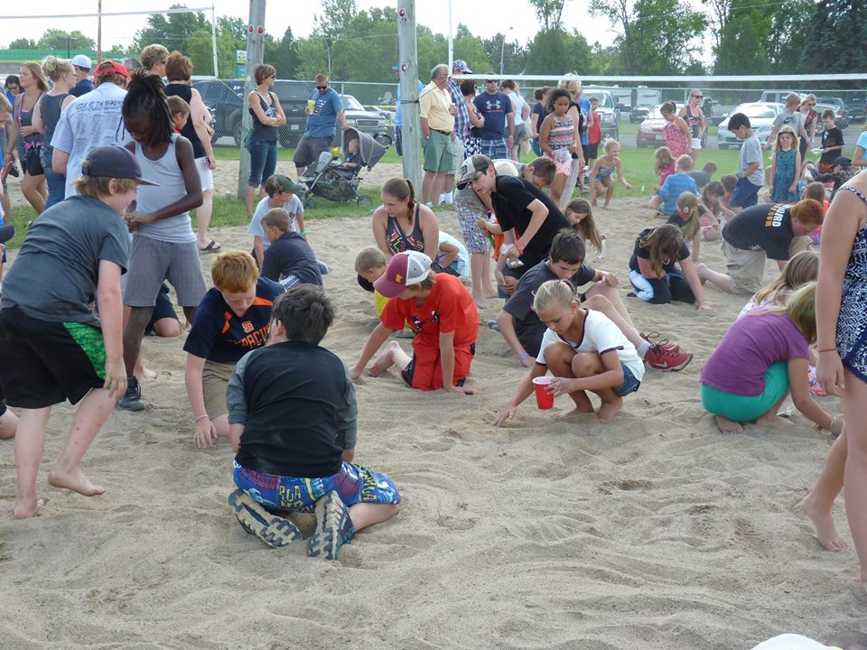 Sand Pile for Kids